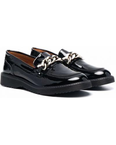 Loafers - czarne Clarys