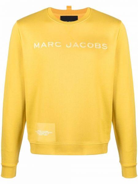 Хлопковый свитшот - желтый Marc Jacobs