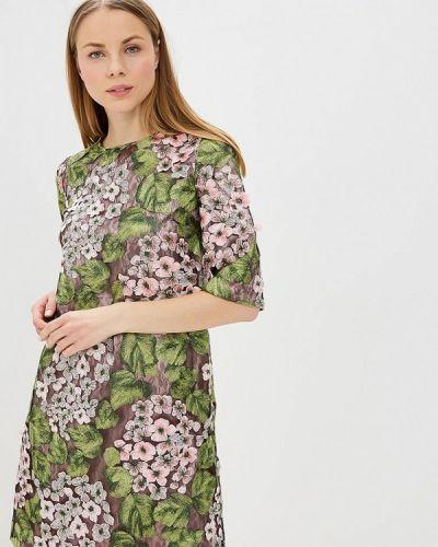 Вечернее платье весеннее розовое Madam T