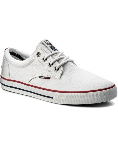 Jeansy dżinsowa biały Tommy Jeans