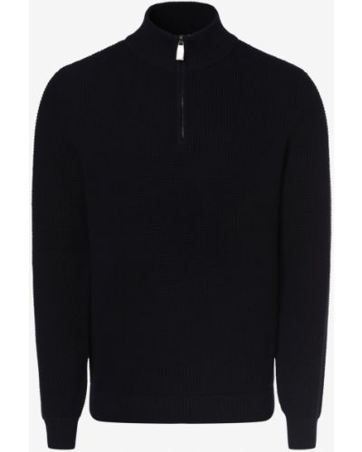 Niebieski sweter elegancki Andrew James Sailing