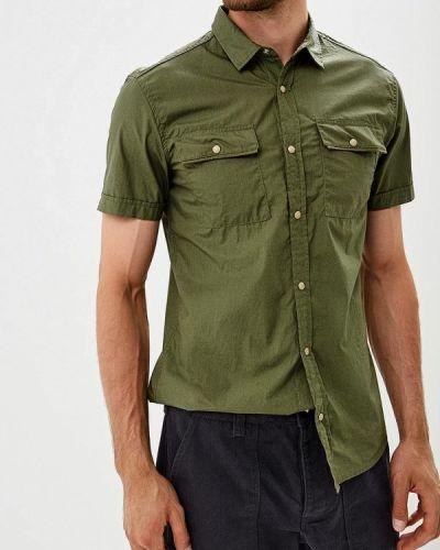 Рубашка с короткими рукавами зеленый турецкий Colin's