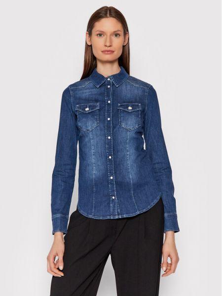 Koszula jeansowa - niebieska Liu Jo