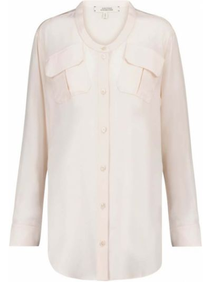 Шелковая белая блузка Dorothee Schumacher