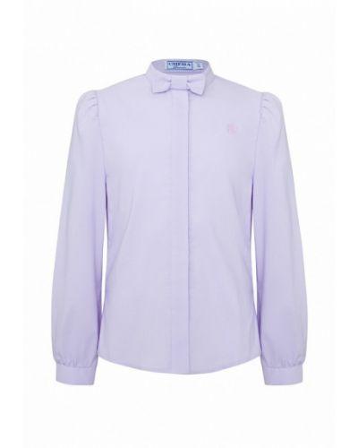 Фиолетовая блуза смена