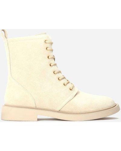 Ботинки - бежевые Kazar
