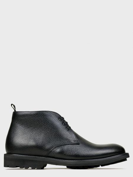 Кожаные ботинки - черные Corneliani