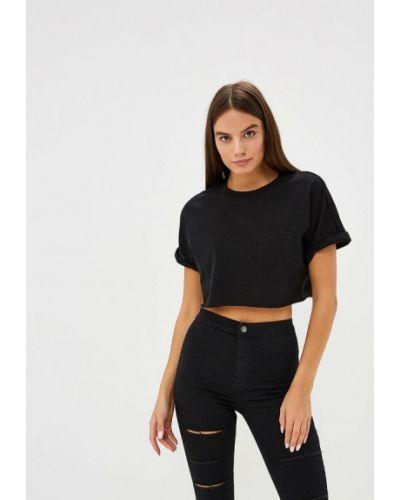 Черная футболка Topshop