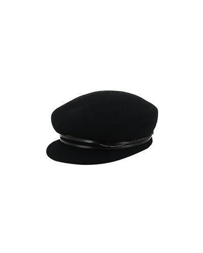 Черная кепка Fabiana Filippi
