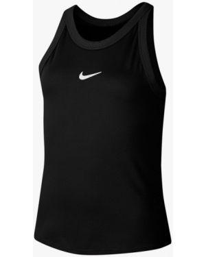 Спортивный черный топ Nike