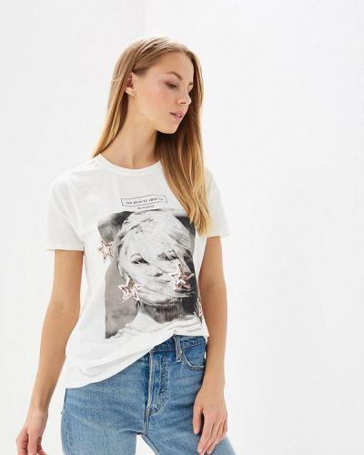 Белая футболка Brigitte Bardot
