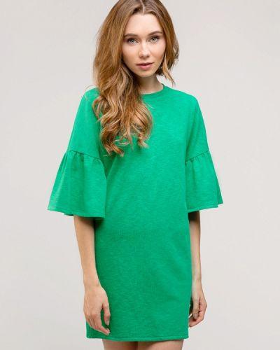 Повседневное платье весеннее зеленый Gee!