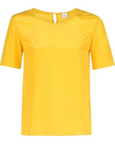 Желтая футбольная футболка Paul Smith