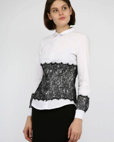 Рубашка с длинным рукавом белая Monton