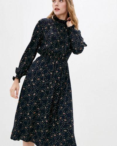Прямое платье - черное Ricamare