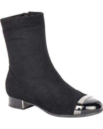 Черные ботинки на каблуке Baldinini
