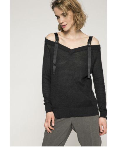 Серый свитер с V-образным вырезом Medicine