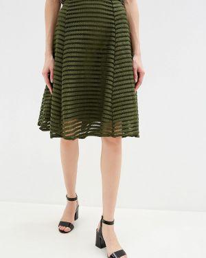 Платье осеннее хаки Yumi