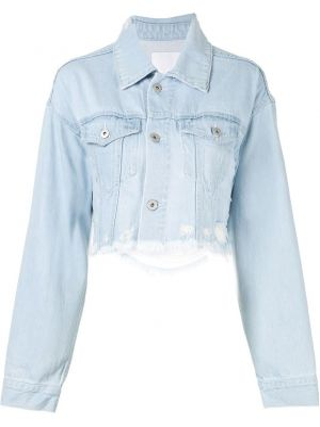 Джинсовая куртка на пуговицах Ground Zero