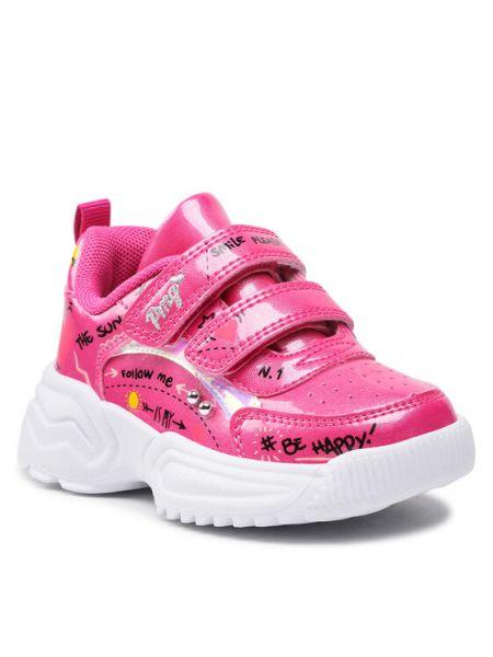 Różowe sneakersy Primigi