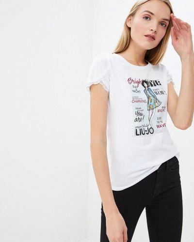 Белая футболка 2019 Liu Jo