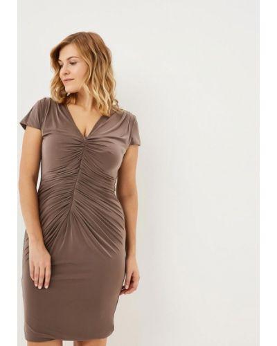 Вечернее платье осеннее Goddiva Size Plus