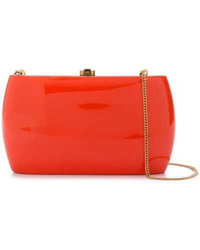 Оранжевая сумка круглая Rocio
