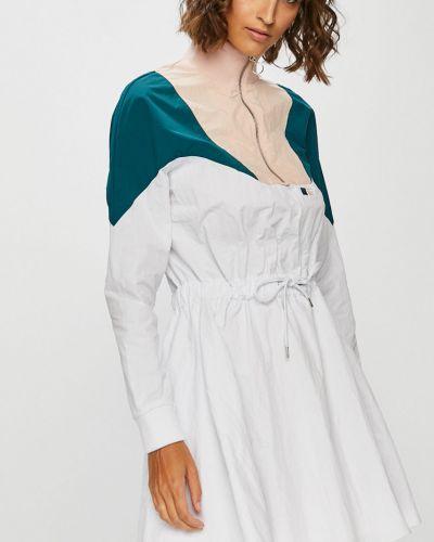 Нейлоновое расклешенное платье мини Review