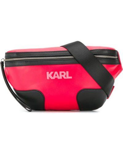 Поясная сумка красная Karl Lagerfeld