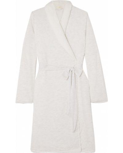 Флисовый халат - серый Eberjey