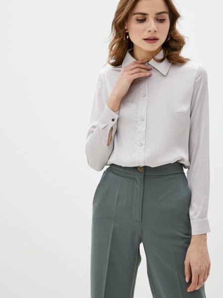 Блузка с длинным рукавом серая весенний Imocean