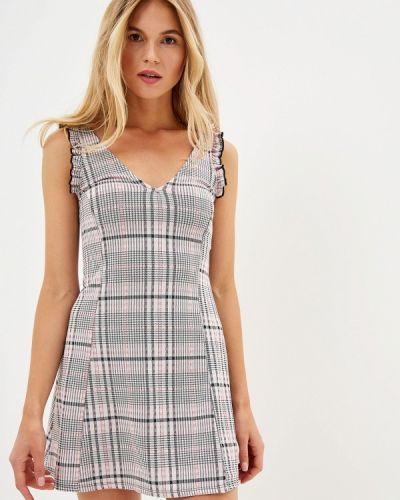 Платье розовое прямое Miss Selfridge