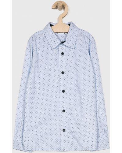 Рубашка с узором синий Name It