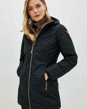 Утепленная куртка осенняя черная Icepeak