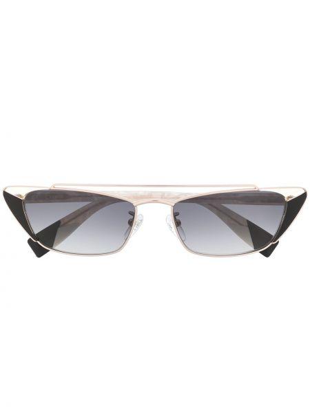 Солнцезащитные очки с логотипом - хаки Furla