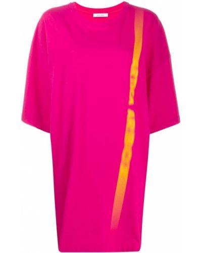 Розовое футбольное платье Artica Arbox