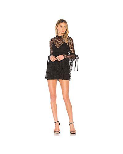 Платье с вышивкой с оборками Alice Mccall