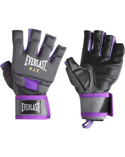 Rękawiczki bez palców - czarne Everlast