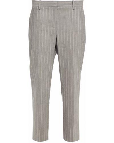 Серые брюки на шпильке Theory