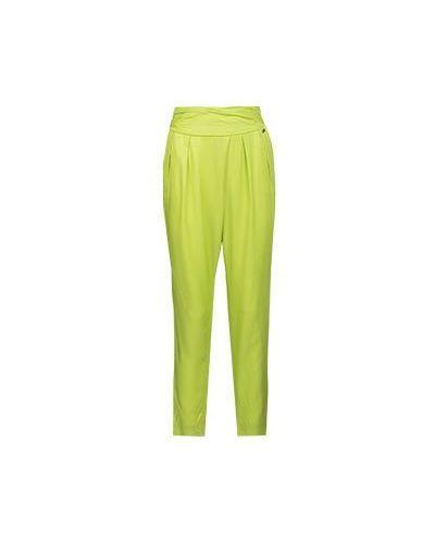 Летние брюки зеленый из вискозы Ice Iceberg