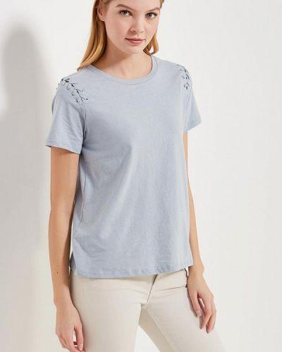 Голубая футболка Glamorous