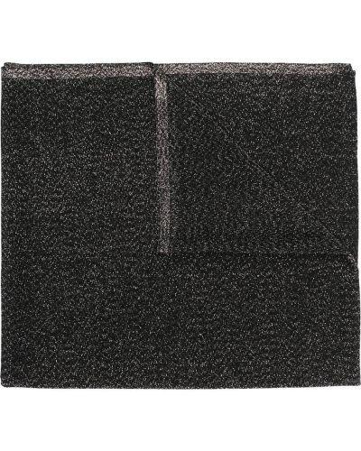 Czarny szalik z printem z wiskozy Missoni