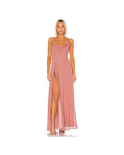 Вечернее платье на молнии фиолетовый Michael Costello