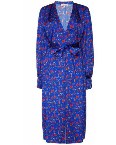Платье миди восточное с цветочным принтом A La Russe