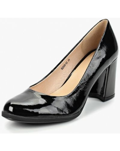 Туфли на каблуке кожаные осенние Provocante
