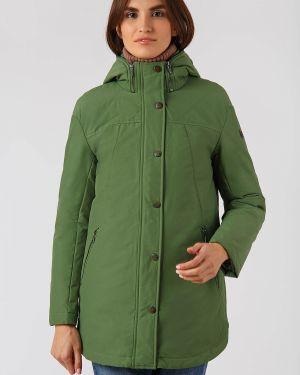 Утепленная куртка хлопковая нейлоновая Finn Flare