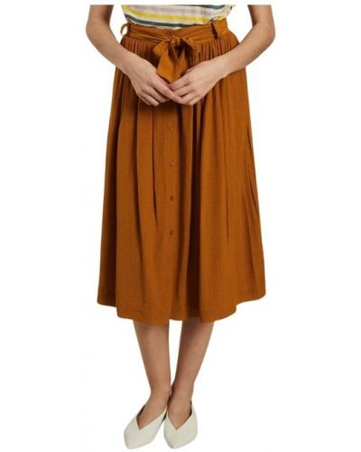 Pomarańczowa spódnica Sessun