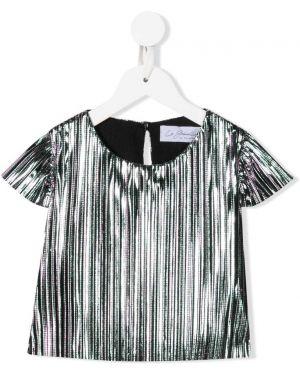 Серебряная блузка Le Gemelline By Feleppa