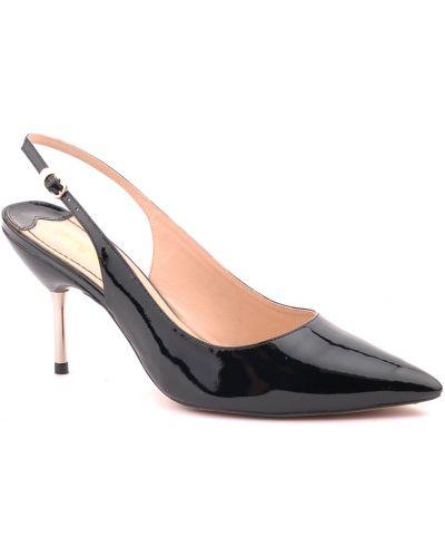 Черные босоножки на каблуке Werner