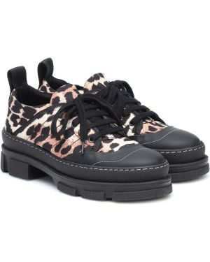 Sneakersy - czarne Ganni